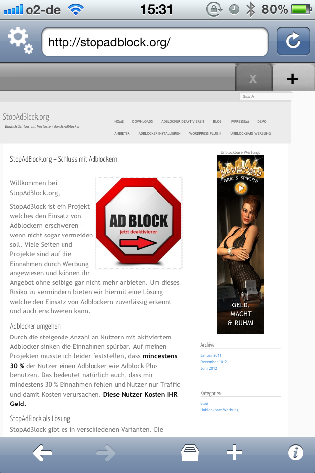 adblocker kostenlos herunterladen