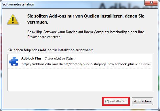 Adblock Firefox installieren - StopAdBlock org