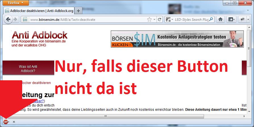 Adblocker Ausschalten Firefox