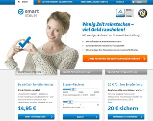 Smartsteuer.de Screenshot