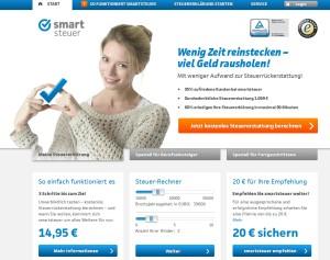 Smartsteuer.de Screenshot